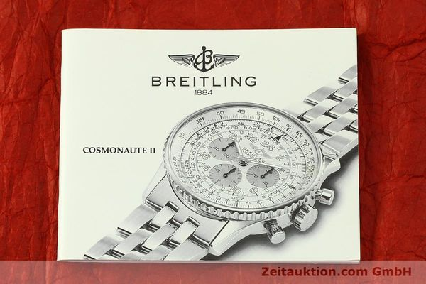 Used luxury watch Breitling Navitimer chronograph steel / gold automatic Kal. LWO 1873 Ref. D12022  | 151173 13