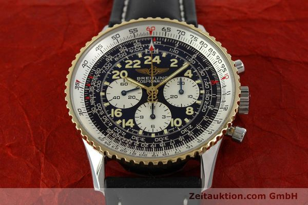 Used luxury watch Breitling Navitimer chronograph steel / gold automatic Kal. LWO 1873 Ref. D12022  | 151173 16