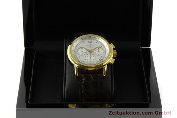 Used luxury watch Zenith Elprimero chronograph 18 ct gold automatic Kal. 400 Ref. 30.0380.400  | 151174 07