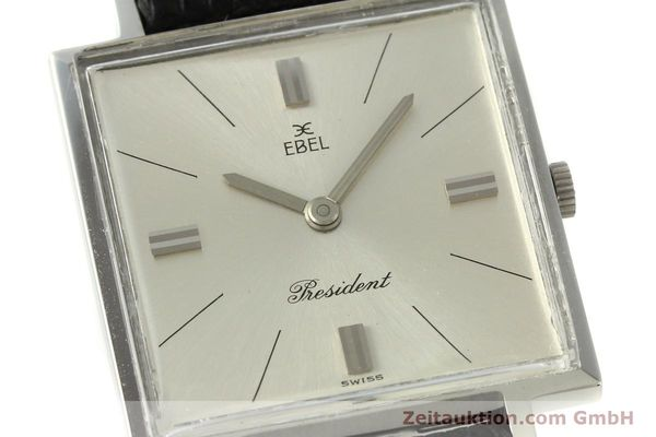 Used luxury watch Ebel President steel manual winding Kal. 097B Ref. 5996  | 151179 02