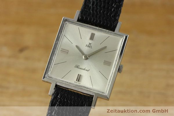 Used luxury watch Ebel President steel manual winding Kal. 097B Ref. 5996  | 151179 04