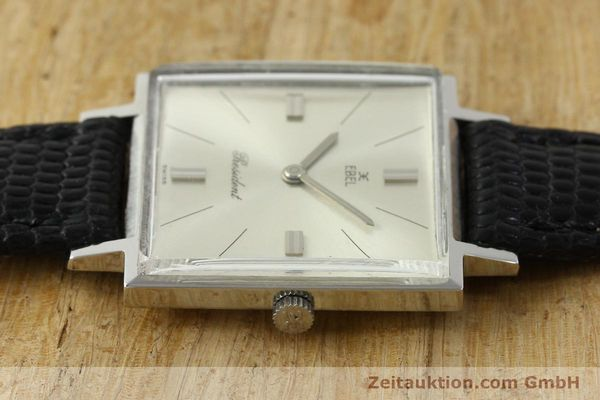 Used luxury watch Ebel President steel manual winding Kal. 097B Ref. 5996  | 151179 05
