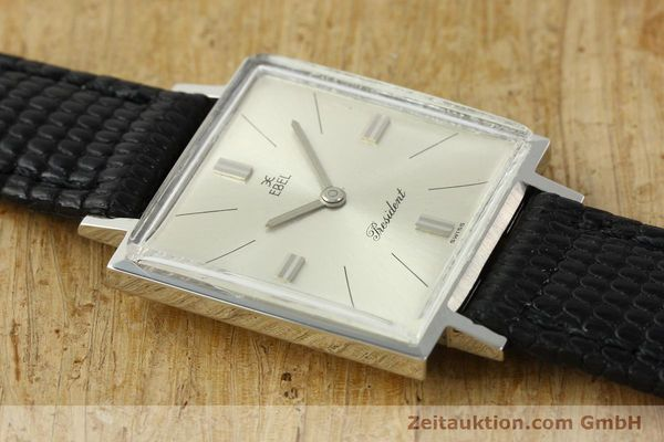 Used luxury watch Ebel President steel manual winding Kal. 097B Ref. 5996  | 151179 12
