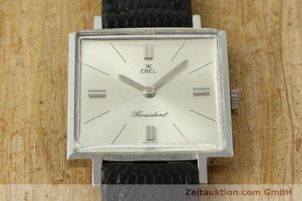 Used luxury watch Ebel President steel manual winding Kal. 097B Ref. 5996  | 151179 13