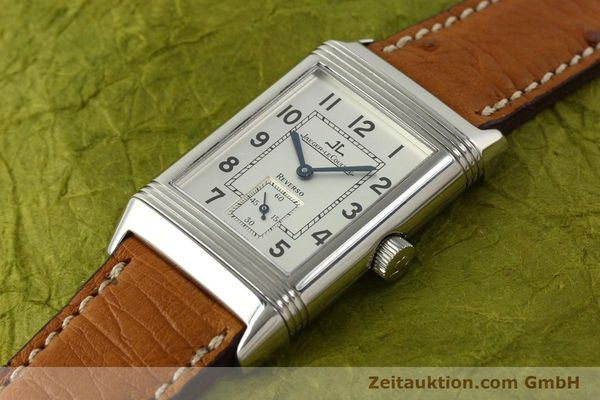Used luxury watch Jaeger Le Coultre Reverso steel manual winding Kal. 822 Ref. 270.8.62  | 151181 01