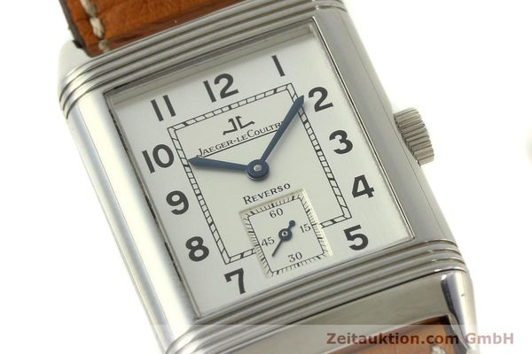 Used luxury watch Jaeger Le Coultre Reverso steel manual winding Kal. 822 Ref. 270.8.62  | 151181 02