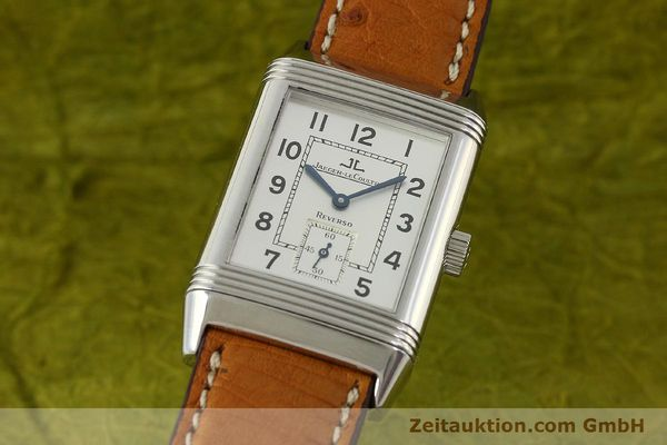Used luxury watch Jaeger Le Coultre Reverso steel manual winding Kal. 822 Ref. 270.8.62  | 151181 04