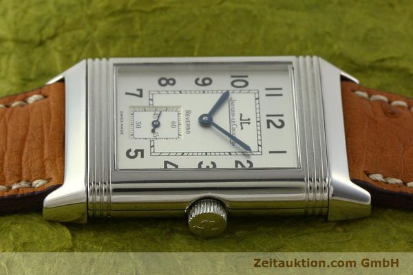Used luxury watch Jaeger Le Coultre Reverso steel manual winding Kal. 822 Ref. 270.8.62  | 151181 05