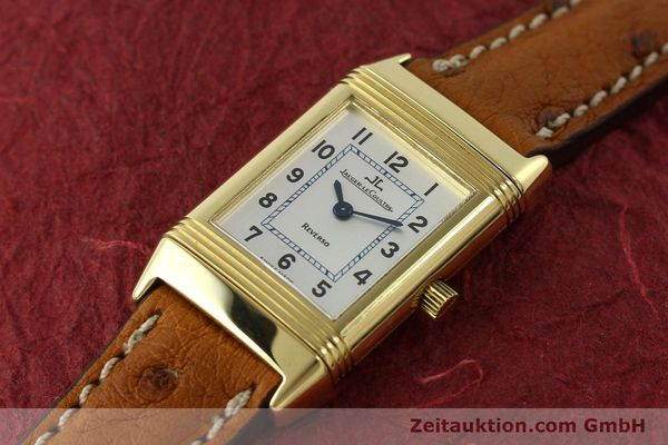 montre de luxe d occasion Jaeger Le Coultre Reverso or 18 ct quartz Kal. 608 Ref. 260.1.08  | 151185 01