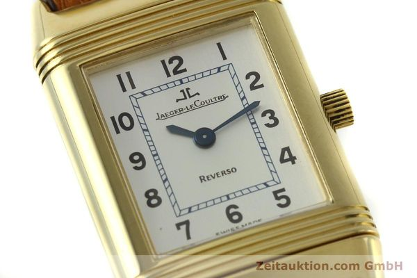 montre de luxe d occasion Jaeger Le Coultre Reverso or 18 ct quartz Kal. 608 Ref. 260.1.08  | 151185 02