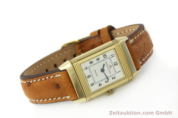 montre de luxe d occasion Jaeger Le Coultre Reverso or 18 ct quartz Kal. 608 Ref. 260.1.08  | 151185 03