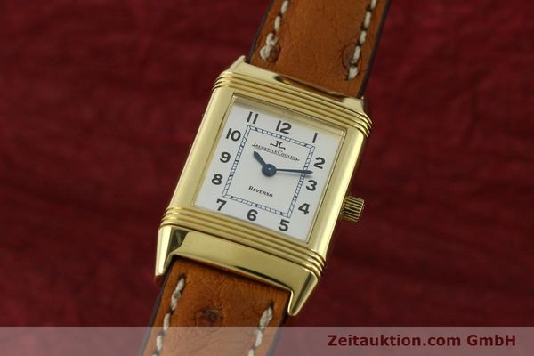 montre de luxe d occasion Jaeger Le Coultre Reverso or 18 ct quartz Kal. 608 Ref. 260.1.08  | 151185 04