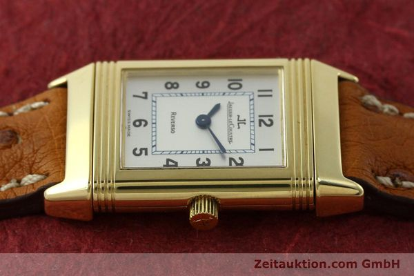 montre de luxe d occasion Jaeger Le Coultre Reverso or 18 ct quartz Kal. 608 Ref. 260.1.08  | 151185 05