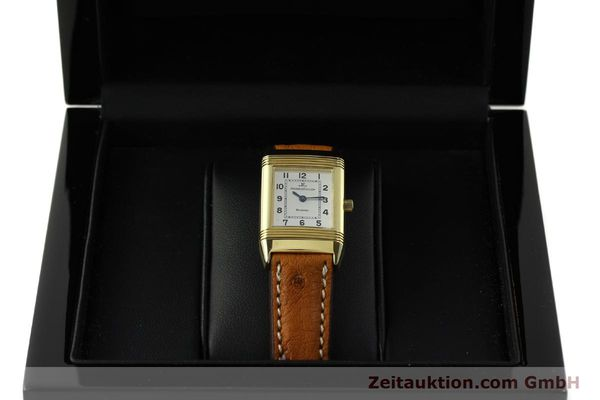 montre de luxe d occasion Jaeger Le Coultre Reverso or 18 ct quartz Kal. 608 Ref. 260.1.08  | 151185 07