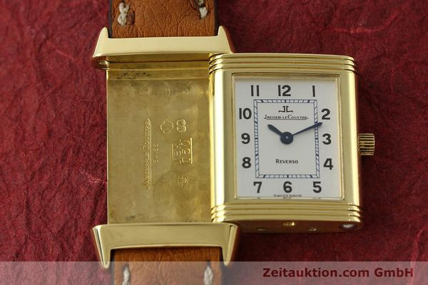 montre de luxe d occasion Jaeger Le Coultre Reverso or 18 ct quartz Kal. 608 Ref. 260.1.08  | 151185 16