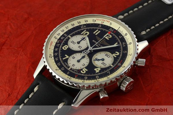 Used luxury watch Breitling Navitimer chronograph steel automatic Kal. B30 ETA 2892-2 Ref. A30021  | 151191 01