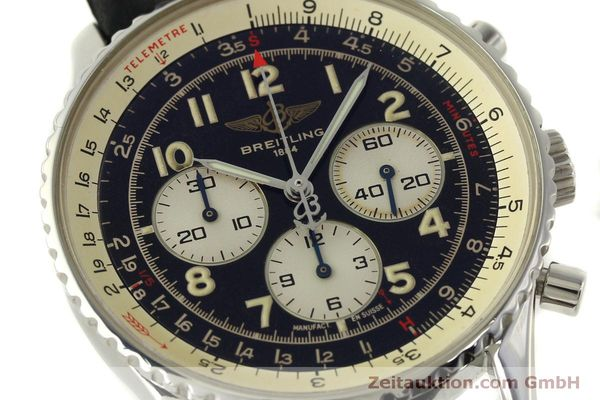 Used luxury watch Breitling Navitimer chronograph steel automatic Kal. B30 ETA 2892-2 Ref. A30021  | 151191 02