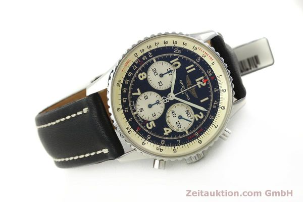 Used luxury watch Breitling Navitimer chronograph steel automatic Kal. B30 ETA 2892-2 Ref. A30021  | 151191 03