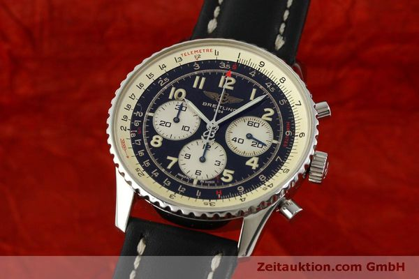 Used luxury watch Breitling Navitimer chronograph steel automatic Kal. B30 ETA 2892-2 Ref. A30021  | 151191 04