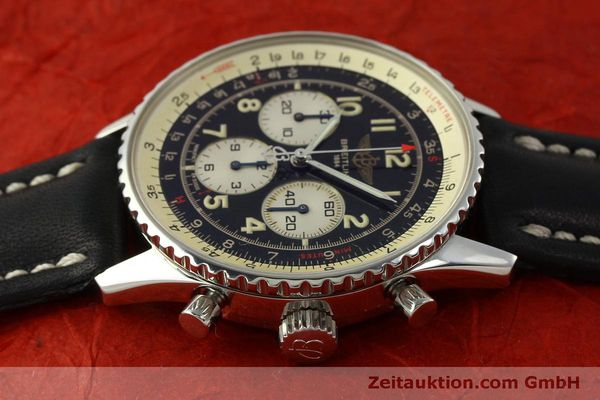 Used luxury watch Breitling Navitimer chronograph steel automatic Kal. B30 ETA 2892-2 Ref. A30021  | 151191 05