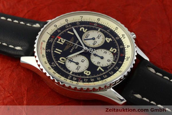 Used luxury watch Breitling Navitimer chronograph steel automatic Kal. B30 ETA 2892-2 Ref. A30021  | 151191 14