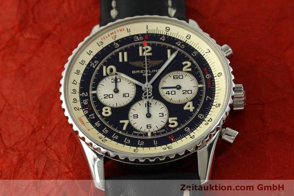 Used luxury watch Breitling Navitimer chronograph steel automatic Kal. B30 ETA 2892-2 Ref. A30021  | 151191 15