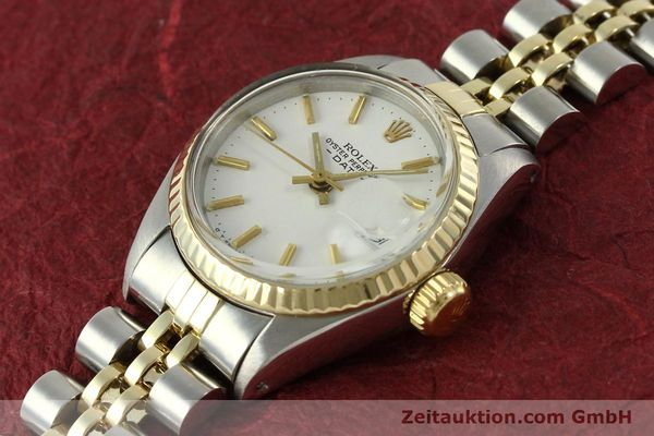 Used luxury watch Rolex Lady Date steel / gold automatic Kal. 2030 Ref. 6917  | 151194 01