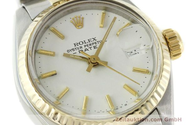 Used luxury watch Rolex Lady Date steel / gold automatic Kal. 2030 Ref. 6917  | 151194 02