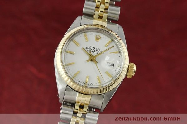 Used luxury watch Rolex Lady Date steel / gold automatic Kal. 2030 Ref. 6917  | 151194 04