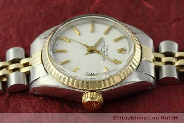 Used luxury watch Rolex Lady Date steel / gold automatic Kal. 2030 Ref. 6917  | 151194 05