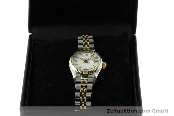 Used luxury watch Rolex Lady Date steel / gold automatic Kal. 2030 Ref. 6917  | 151194 07
