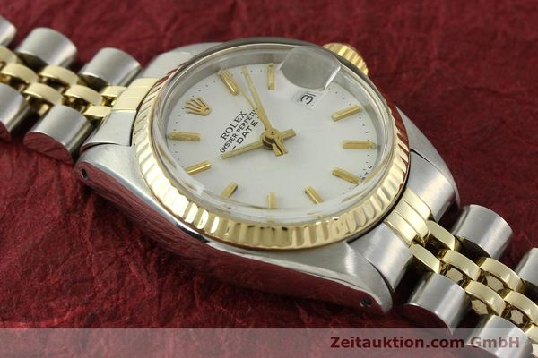 Used luxury watch Rolex Lady Date steel / gold automatic Kal. 2030 Ref. 6917  | 151194 15