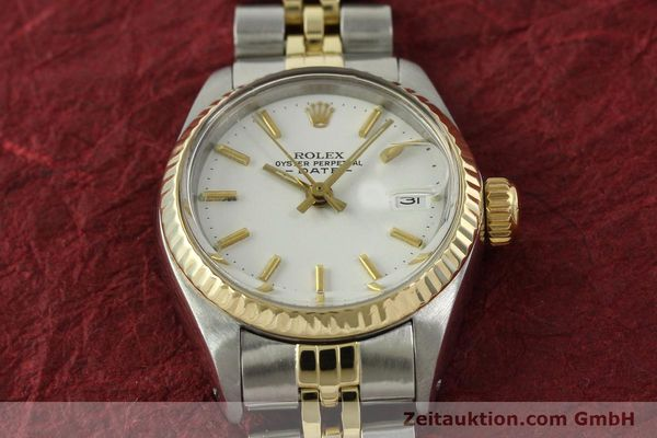 Used luxury watch Rolex Lady Date steel / gold automatic Kal. 2030 Ref. 6917  | 151194 16