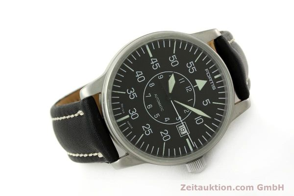 Used luxury watch Fortis Flieger steel automatic Kal. ETA 2824-2 Ref. 593.10.46 VINTAGE  | 151197 03