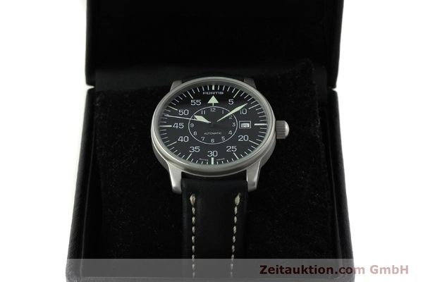 Used luxury watch Fortis Flieger steel automatic Kal. ETA 2824-2 Ref. 593.10.46 VINTAGE  | 151197 07