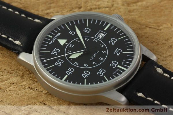 Used luxury watch Fortis Flieger steel automatic Kal. ETA 2824-2 Ref. 593.10.46 VINTAGE  | 151197 13