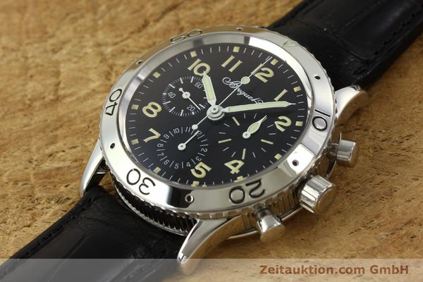 Used luxury watch Breguet Type XX chronograph steel automatic Kal. 582 LWO1377 Ref. 3800  | 151198 01