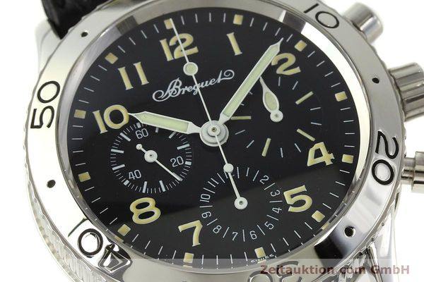 Used luxury watch Breguet Type XX chronograph steel automatic Kal. 582 LWO1377 Ref. 3800  | 151198 02