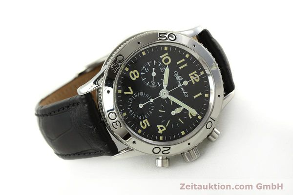 Used luxury watch Breguet Type XX chronograph steel automatic Kal. 582 LWO1377 Ref. 3800  | 151198 03