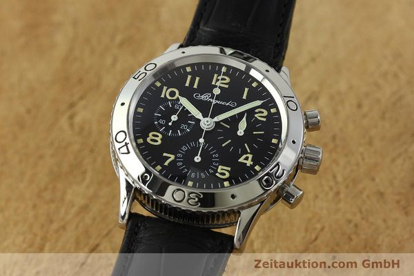 Used luxury watch Breguet Type XX chronograph steel automatic Kal. 582 LWO1377 Ref. 3800  | 151198 04
