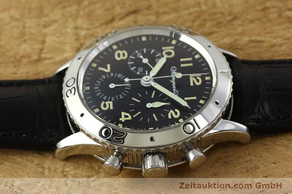 Used luxury watch Breguet Type XX chronograph steel automatic Kal. 582 LWO1377 Ref. 3800  | 151198 05