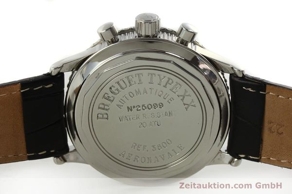 Used luxury watch Breguet Type XX chronograph steel automatic Kal. 582 LWO1377 Ref. 3800  | 151198 09
