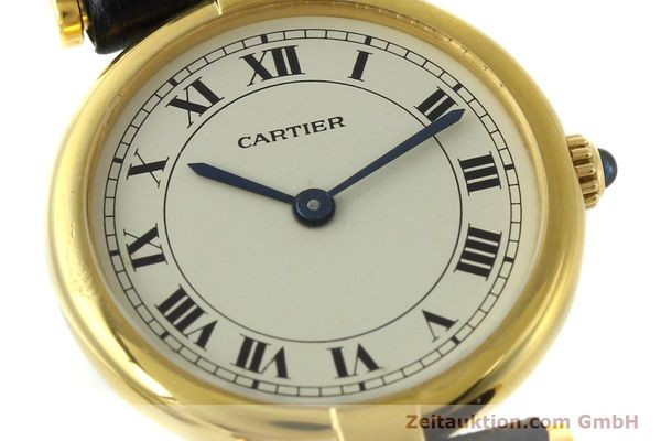 Used luxury watch Cartier * 18 ct gold quartz Kal. 81  | 151202 02