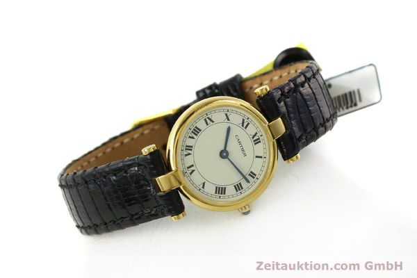 Used luxury watch Cartier * 18 ct gold quartz Kal. 81  | 151202 03