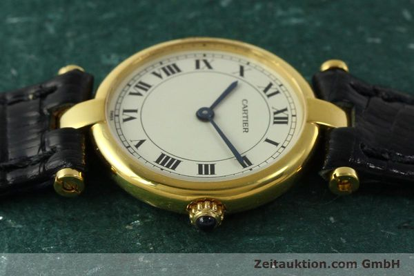 Used luxury watch Cartier * 18 ct gold quartz Kal. 81  | 151202 05