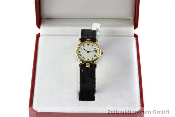 Used luxury watch Cartier * 18 ct gold quartz Kal. 81  | 151202 07