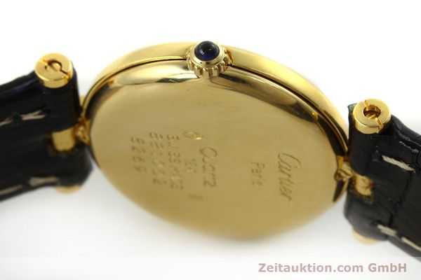 Used luxury watch Cartier * 18 ct gold quartz Kal. 81  | 151202 08