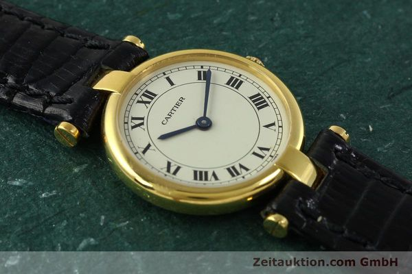 Used luxury watch Cartier * 18 ct gold quartz Kal. 81  | 151202 11