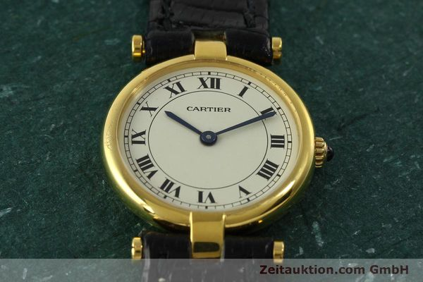 Used luxury watch Cartier * 18 ct gold quartz Kal. 81  | 151202 12