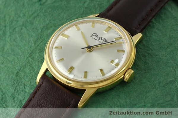 Used luxury watch Glashütte * gold-plated manual winding Kal. 69.1  | 151205 01